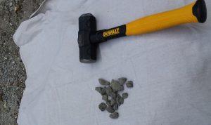 Basalt crushing technique 1